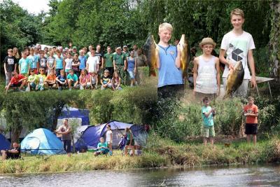 Foto zur Meldung: 17. Jugend - Angel - Camp an den Trockenwerksteichen