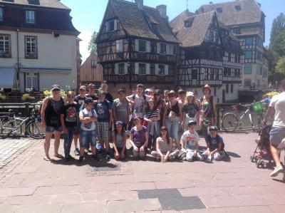 Foto zur Meldung: Europaschule besucht die Hauptstadt Europas