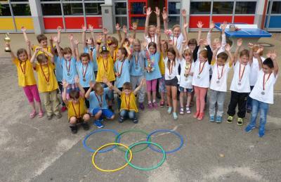 Foto zur Meldung: Grundschule Am See Groß Twülpstedt - Sommerferien-Olympiade