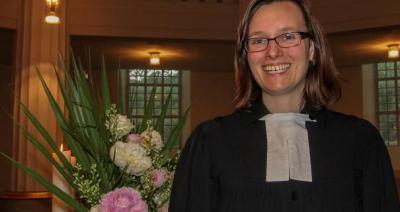 Foto zur Meldung: Annette Blome ist Pfarrerin in Oberneisen