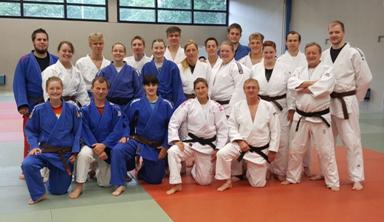 Foto zur Meldung: Unsere drei Aspiranten aus der Judo-Sparte des SC Hemmingen-Westerfeld bei der Trainer-C-Ausbildung