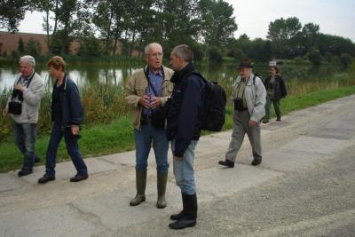Foto zur Meldung: Exkursion zum Stausee Hauröden
