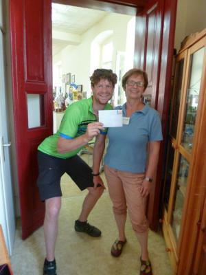 Foto zur Meldung: Tourismusverein als Postillion d'amour