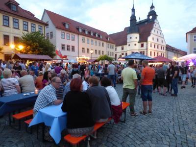 Foto zur Meldung: Dankeschön an alle Besucher des 8. Altstadtfestes in Hildburghausen