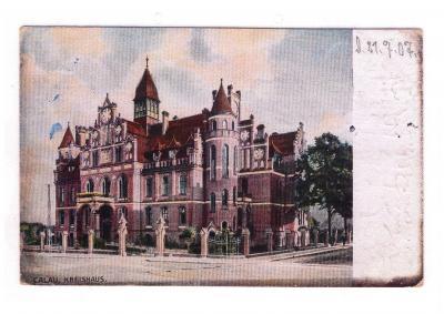 Foto zur Meldung: Gebäude mit Geschichte: Fassade des Kreishauses Calau erhält eine  energetische Aufwertung