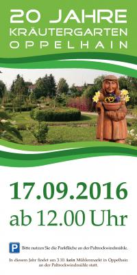 Foto zur Meldung: Oppelhain feiert 20 Jahre Kräutergarten