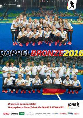 Foto zur Meldung: Doppelbronze Olympia 2016