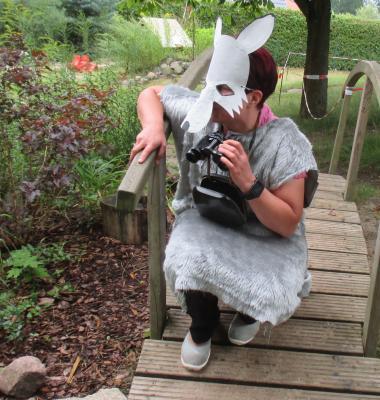 Foto zu Meldung: Im Fuchsbau war der Wolf