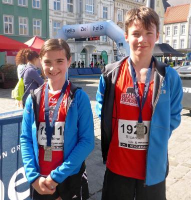 Foto zur Meldung: 14. Hella Marathon Nacht in Rostock war wieder ein Spektakel