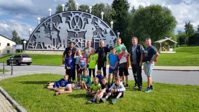 Foto zur Meldung: Trainingslager-Johanngeorgenstadt