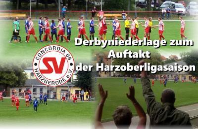 Foto zur Meldung: Harzoberliga: Niederlage im Derby am 1. Spieltag