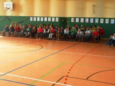 Foto zur Meldung: Feierliche Begrüßung zum Schulstart
