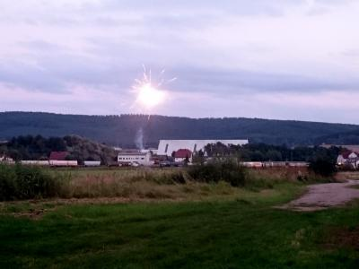 Foto zur Meldung: Feuerwerk in Sommernächten