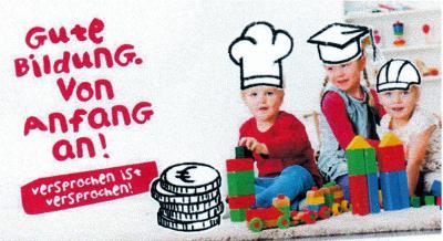 Foto zur Meldung: Betreuungsgeld für die Kindertagesbetreuung