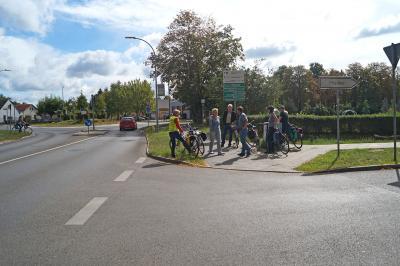Foto zu Meldung: Radverkehrsschau: Weitere Einbahnstraße wird für Radler geöffnet