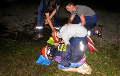Foto zu Meldung: Jugendfeuerwehren fuhren ins Zeltlager