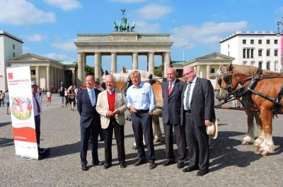 Bild der Meldung: Kutschenkorso zum Brandenburg-Tag