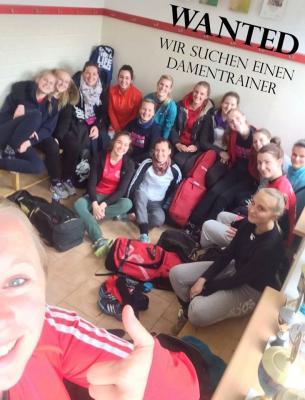 Foto zur Meldung: Damenmannschaft sucht neuen Trainer