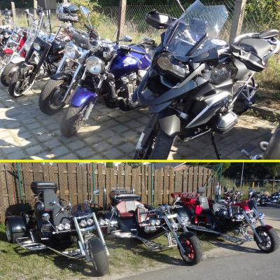 Foto zu Meldung: Bikes - Trikes - Oldtimer