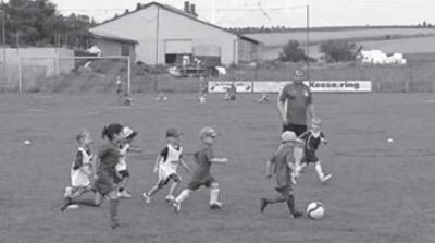 Foto zur Meldung: Rückblick Bambini - Fußball