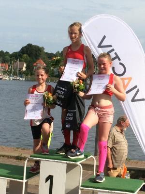 Foto zur Meldung: Laager Mädels rocken Rostocker Frauenlauf