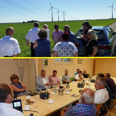 Foto zur Meldung: Bundestagsabgeordnete der Partei DIE LINKE in Rehfelde