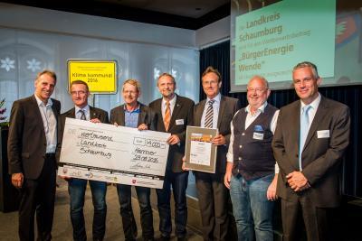 """Foto zur Meldung: Leuchtturmprojekt Wettbewerb """"Klima kommunal 2016"""""""