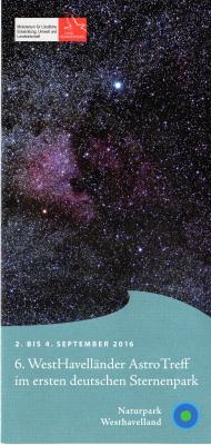 Foto zur Meldung: 6. Westhavelländer Astro-Treff im ersten deutschen Sternenpark