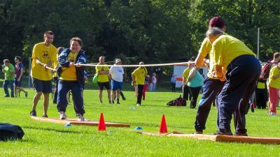 Foto zur Meldung: 22. Sportfest für Menschen mit Behinderung: Tolle Wettkämpfe, ausgelassene Stimmung und optimales Wetter