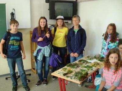 Foto zur Meldung: Projektwoche Klasse 6a und 6b