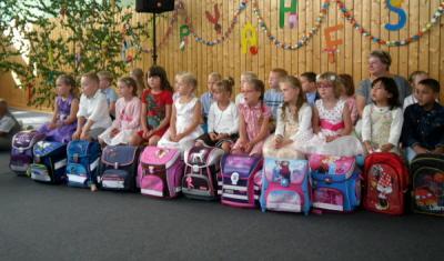 Foto zur Meldung: Willkommen in der Schule