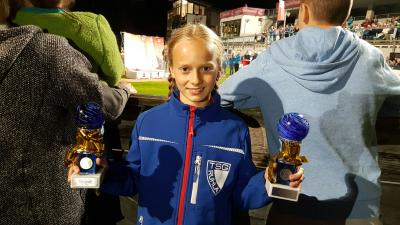 Foto zur Meldung: Cindy beim FIS-Youth-Cup erfolgreich