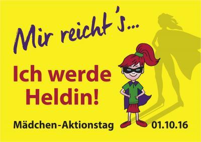 """Foto zur Meldung: """"Mir reichts… ! Ich werde HELDIN.""""  Mädchen*aktionstag in Görlitz mit vielen tollen Angeboten!"""