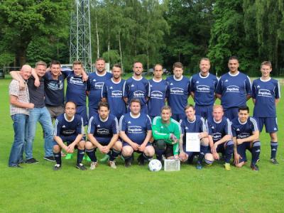 Foto zur Meldung: Altherren - Kreismeister Saison 2015/2016