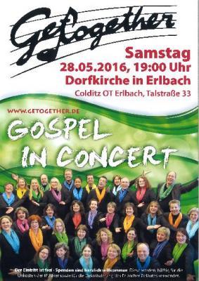 Vorschaubild zur Meldung: Get together - Gospel in Concert