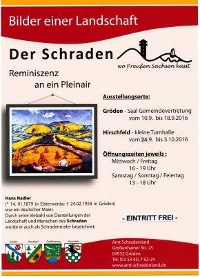 """Foto zu Meldung: Ausstellung """"Bilder einer Landschaft - DER SCHRADEN"""""""