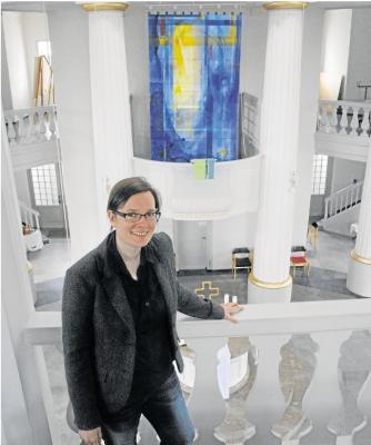 Foto zur Meldung: Pfarrerin macht im Aartal viele positive Erfahrungen