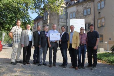 Vorschaubild : Deutsche Stiftung Denkmalschutz und Lotto Hessen fördern Schloss