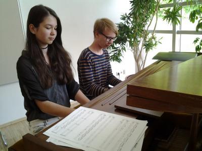 Foto zur Meldung: Ein Nachmittag mit Klaviermusik