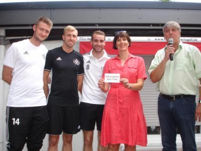Foto zur Meldung: Gelungenes VfB-Sommerfest & Gewinner  der Sponsoringverlosung des VfB