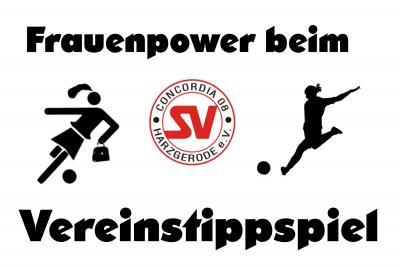 Foto zu Meldung: Frauenpower beim Vereinstippspiel