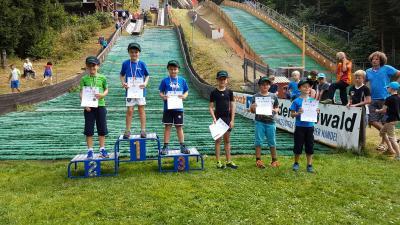 Foto zur Meldung: 13 Ruhlaer Medaillen beim Thüringer Schülercup