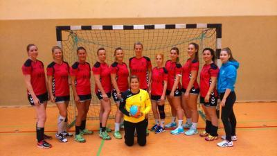 Foto zur Meldung: Aufregendes Pokalwochenende für die 2. Frauen des HSV Falkensee 04