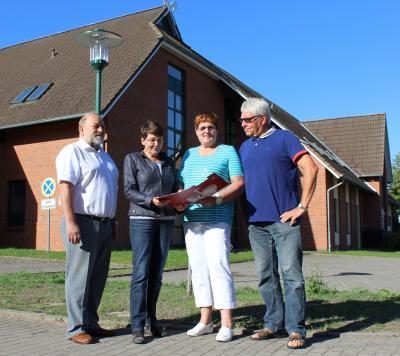 Vorschaubild zur Meldung: LED-Umrüstung in der Gemeinde Seehof erfolgreich gestartet
