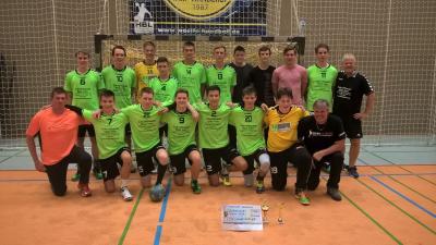 Foto zur Meldung: A-Jugend gewinnt den Eulencup