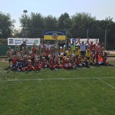 Foto zur Meldung: 1. Bambini Fair-Play Turnier der Saison 2016/17