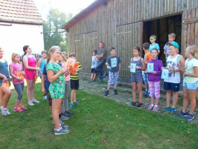 """Foto zur Meldung: Projekttag """"Natur zum Anfassen"""" in Plessa"""