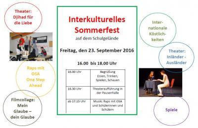Foto zur Meldung: Interkulturelles Sommerfest