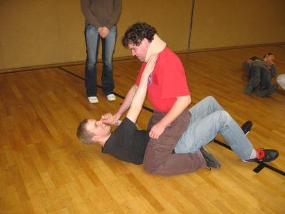 Foto zu Meldung: Selbstverteidigung-Kurs in der Herbstferien für Mitglieder im TV Hude