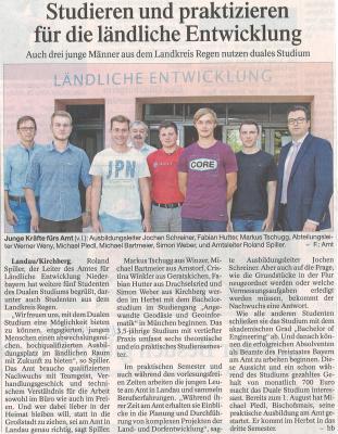 Auszug Der Bayerwald Bote 19.09.2016